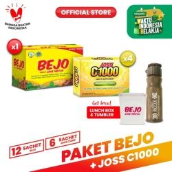 Paket Bejo Jahe Merah + Joss C1000 FREE Tumblr + Lunch Box