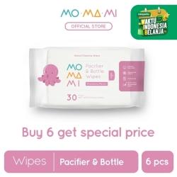 Momami Pacifier & Bottle Wipes 6pk