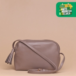 Tas Selempang Wanita Silvertote Zarah N2 Sling Bag Grey