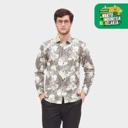 Odza Classic Batik Ceplok Kembang Putih