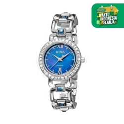 [original] Bonia B10102-2383S Jam Tangan Wanita Stainless Steel Silver