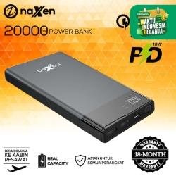 Naxen Powerbank Vigo Ultra 20.000mAh LED Display QC 3.0 + PD 10W