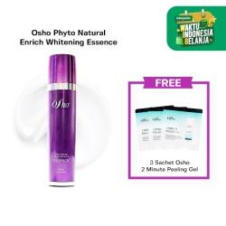 Osho - Phyto Natural Enrich Whitening Essence Free 3 Sch Peeling Gel