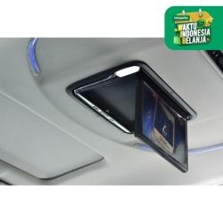 Tv roof plafon android. 13.3 inch Toyota Alphard. Ram 2Gb. Mirrorlink.