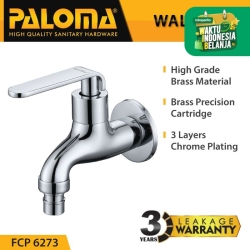 PALOMA FCP 6273 Keran Taman Selang Mesin Cuci Dinding Tembok Kran Air