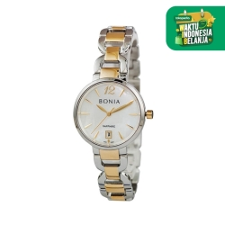 [original] Bonia B10357-2155 Jam Tangan Wanita Stainless Steel Silver