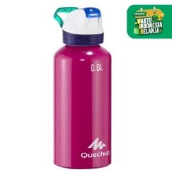 Quechua Botol Minum Aluminium 0.6L Pink 900 Decathlon - 8359643