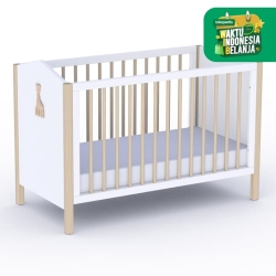 THEO x SOPHIE LG Bed 60x120 with Carving / Ranjang Anak