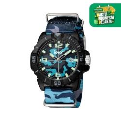 iGear I42-1785 - Jam Tangan Pria - Blue Black Camouflage