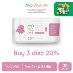 MoMaMi Pacifier & Bottle Wipes (3 Pk)