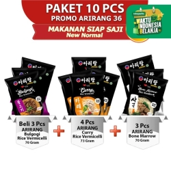 ARIRANG Bulgogi 1pc, Curry 2pc, Kwetiau Sumsum 2pc Free 5pcs (AR36)