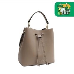 Ashley Bucket Bag - Khaki