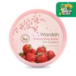 Wardah Creamy Body Butter with Strawberry 50 ml