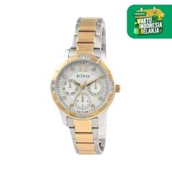 [original] Bonia B10299-2155 Jam Tangan Wanita Stainless Steel Gold