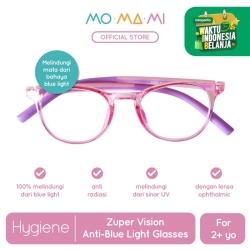 Momami Zuper Vision Anti-Blue Light Glasses - Pink/Purple