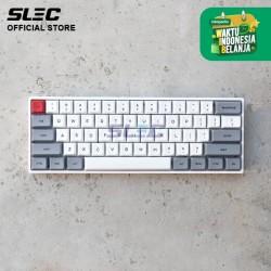Keyboard Mechanical 61 SLEC AGI mini WHITE