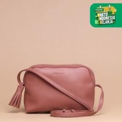 Tas Selempang Wanita Silvertote Zarah N2 Sling Bag Pink