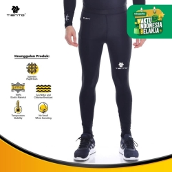Baselayer Manset Tiento Long Pants Black White Original