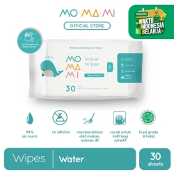 """MoMaMi Water Wipes 30"""""""