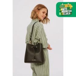 Ashley Bucket Bag - Black