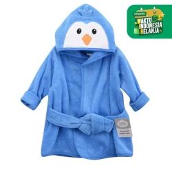 Luvable Friends Animal Face Hooded Towel / Handuk Towel