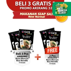 ARIRANG Bone Marrow Rice Noodle 70g Beli 3 pcs FREE 2 pcs (AR32)