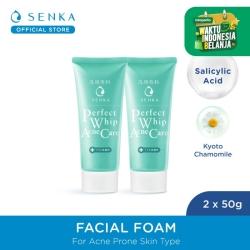 [TWINPACK] SENKA Perfect Whip Acne Care 50gr