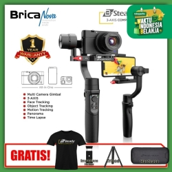 Brica B-Steady - BSteady Multi - 3 Axis Compact Camera Gimbal - Black
