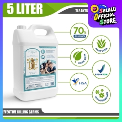 TLF Hand Sanitizer 5 Liter Antiseptik Lisensi BPOM & HSA & Halal