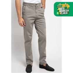EMBA CLASSIC-Lercov Celana Panjang Pria Warna Dark Grey