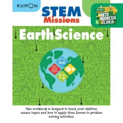 Buku Anak - Kumon - STEM Missions: Earth Science