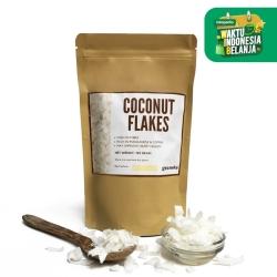 Organic Coconut Flake / Kelapa Serut Kering 150g