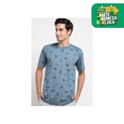 Emba Classic Zachery T-shirt in Blue
