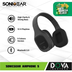 Sonicgear Airphone 5 Bluetooth Headphone with Mic