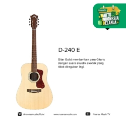 Guild D-240E Acoustic Electric Guitars
