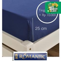 Tambah Tinggi 25 cm sprei ROMANTIC custom
