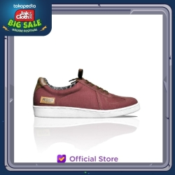 PRODIGO * Sepatu Sneaker Pria Tabot Maroon