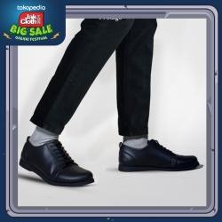 PRODIGO * Sepatu Boots Pria Singasari Full Black