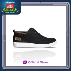 PRODIGO * Sepatu Sneaker Pria KUTAI BLACK
