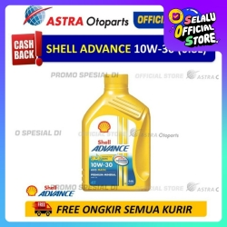 Shell Advance AX5SC 10W30 0.8 L untuk Motor Matic