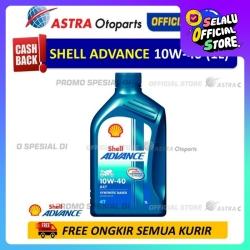 Shell Advance AX7 10W-40 1 Liter untuk Motor Manual