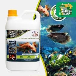 GDM Suplemen Organik Cair Untuk Perikanan Ukuran 2 LIter