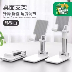 Phone Holder Tempat Dudukan HP Lipat Folding Desktop HP