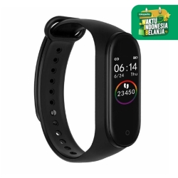 Smart Watch Smartwatch M4 Anti Air Support Android dan Iphone - Hitam