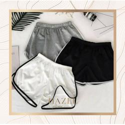 Celana Pendek Hot Pants Wanita Murah Hitam Putih Abu Celana Rumah