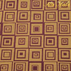 Jacquard Kotak 3D Gold Burgundy (Alta Moda)
