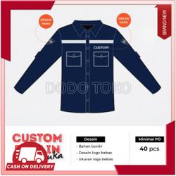 Bisa Bayar Ditempat Seragam Karyawan Custom CST 210 Garansi