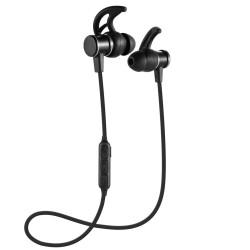 Headset Bluetooth Sports Handsfree Earphone Metal Solid Magnet SLS 10
