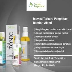 Paket Perawatan Herbal untuk Rambut Uban dan Rontok Green Angelica