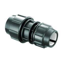 """FITTNG HDPE REDUCER COUPLER 2""""X1-1/2"""" ATAU 63 MMX 50 MM"""